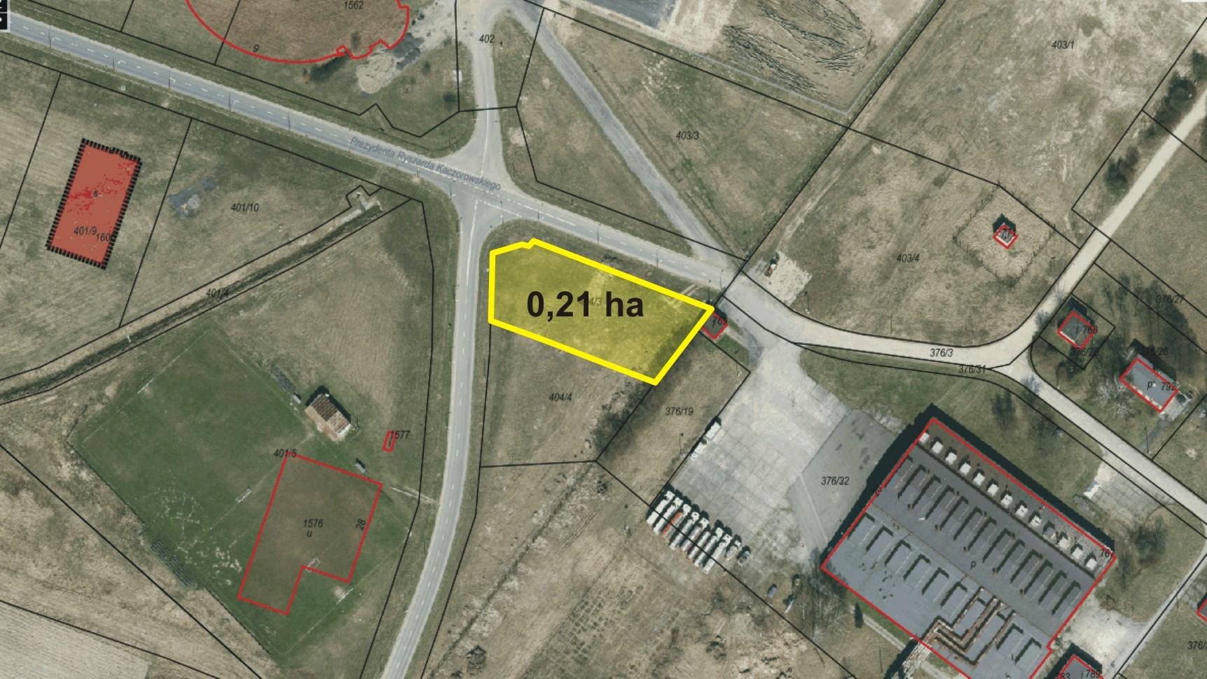 Lokalizacja terenu inwestycyjnego